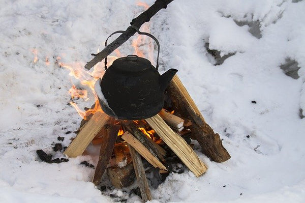 how to stay warm camping