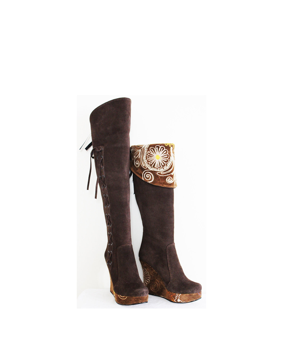 Rio De Janiero- Over The Knee Brown