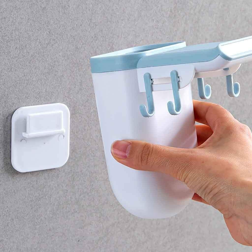 Perforated Magnet Toothbrush Holder