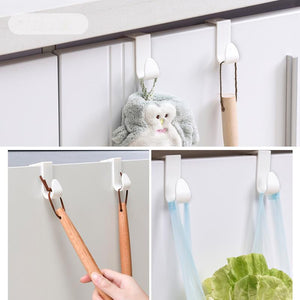Multifunctional household hanger connector hooks