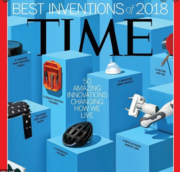TIME Magazine's Best Inventions of the Year for the Health & Wellness Category- goes to nanobébé.