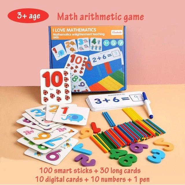 Math Centered-Early Childhood Educational Game