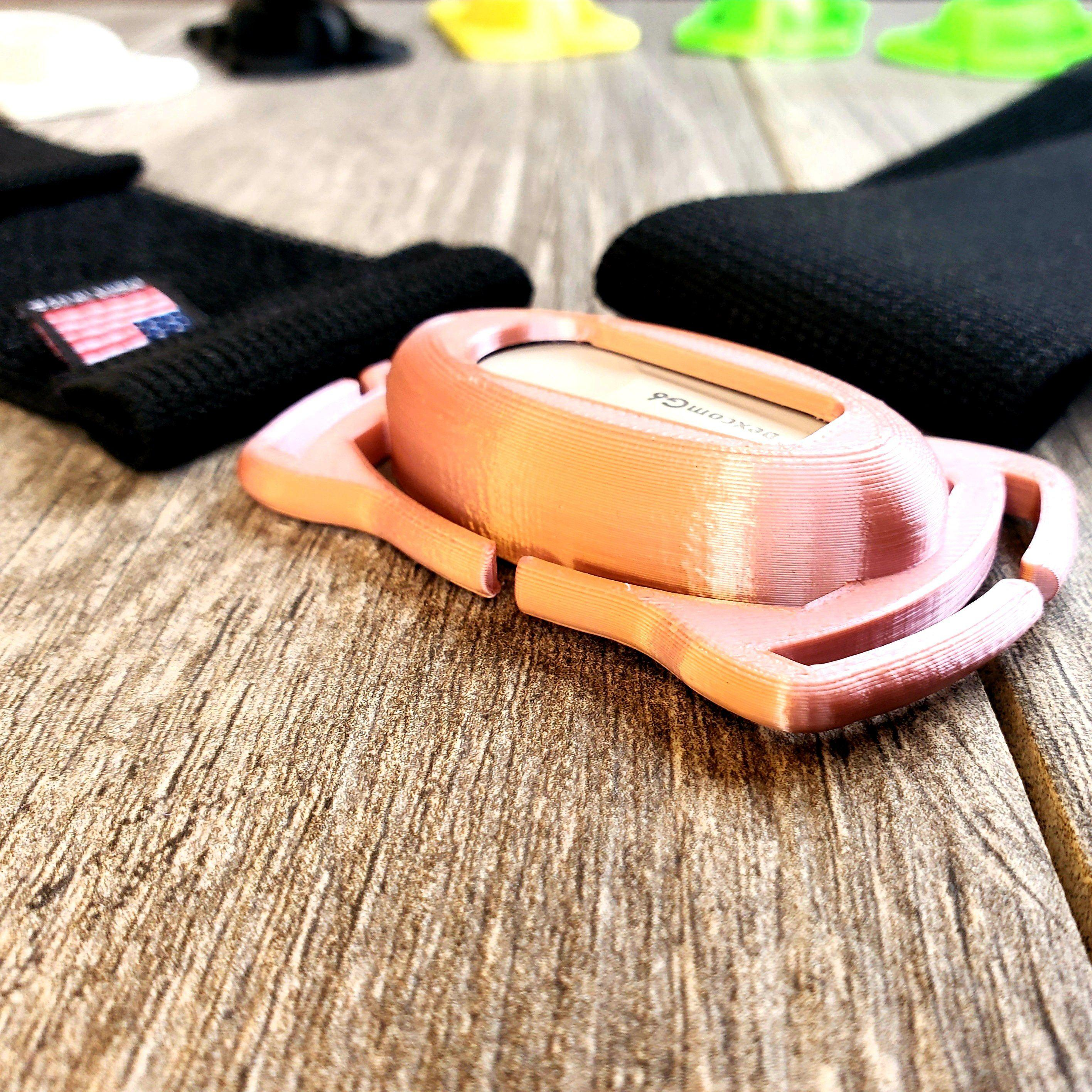 "Dexcom G6 Starter Kit : 50/50 Starter Kit Case & 2 Adjustable 2"" Wide Velcro® All-In-One Bands"