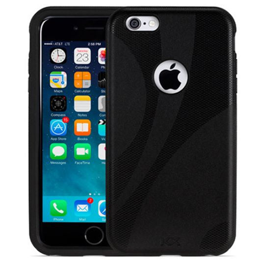 Funda iPhone 6/6s Plus Negra (Darkness)