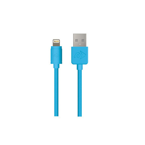 Cable Lightning para iPod, iPhone, iPad (Azul) - Axioma México - 1