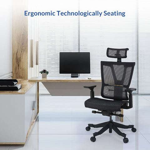 Image of Flexispot 4D Fully Adjustable Ergonomic Office Chair OC9B