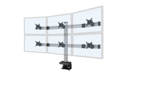 Image of Innovative Bild® 3 Over 3 Monitor Mount