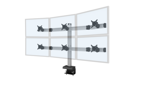 Innovative Bild® 3 Over 3 Monitor Mount