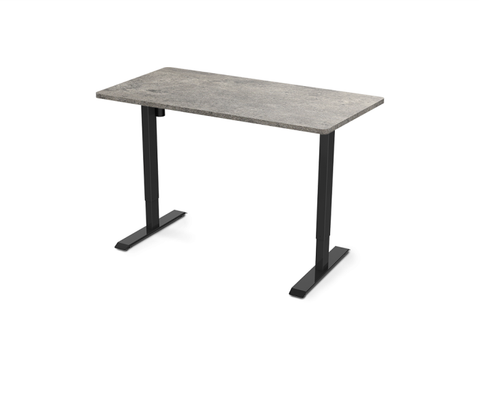 "Image of Electric Height Adjustable Standing Desk EC1 - 55"" W"