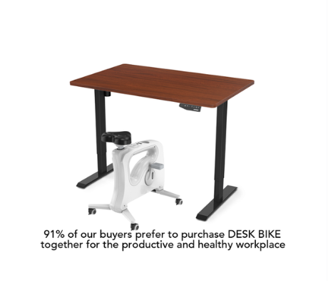 Flexispot Favorite Combo: Standing Desk + Under Desk Bike