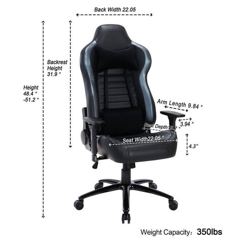 Image of Flexispot Ergonomic Gaming Chair 8301