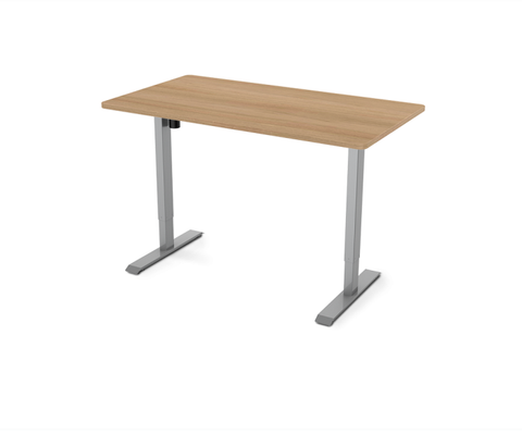 "Image of Flexispot Electric Height Adjustable Standing Desk EC1 - 55"" W"