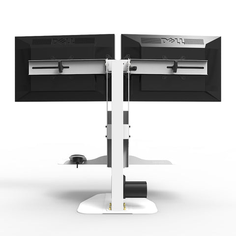 Image of Versadesk Micro Power Desk Riser - Dual