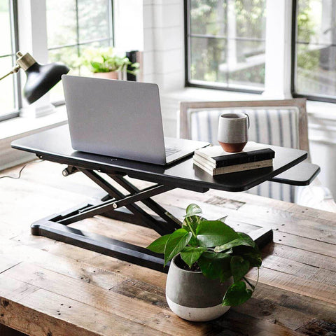 Image of Flexispot Motorized AlcoveRiser Standing Desk Converters EM7MB - 36''
