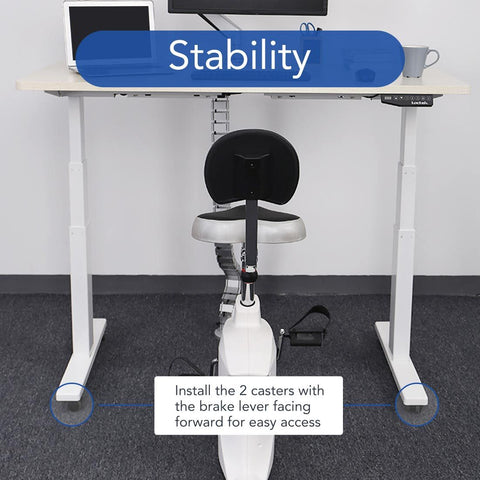 Image of Flexispot Standing Desk Casters W1