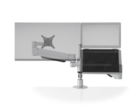 Image of Innovative Staxx™ Articulating Monitor + Laptop Mount