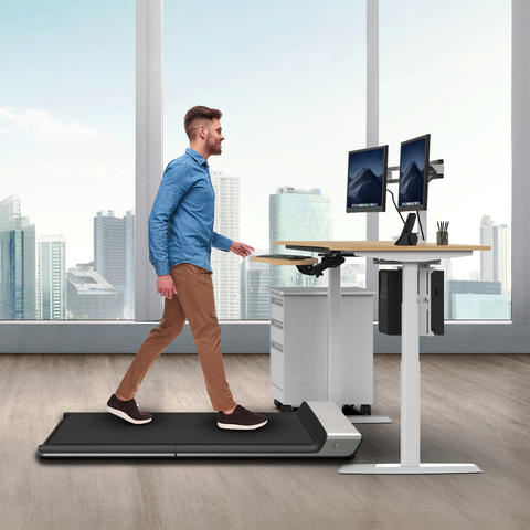 Versadesk Ultra-Thin Smart Folding Treadmill