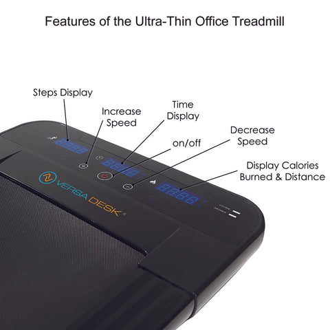 Versadesk Ultra-Thin Office Treadmill