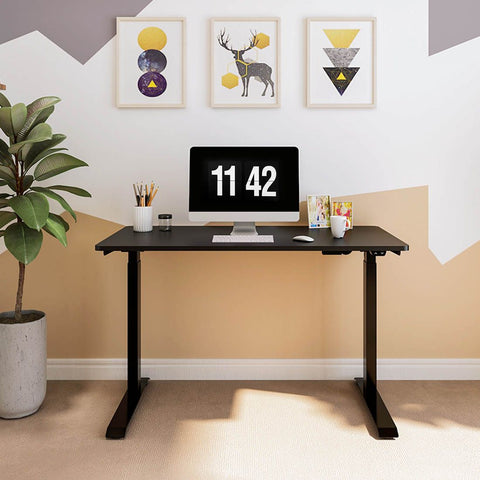 "Image of Flexispot Vici Electric Quick-Install Height Adjustable Desk EC9 - 48"" W"