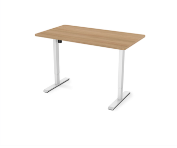 "Electric Height Adjustable Standing Desk EC1 - 55"" W"