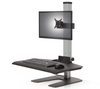 Innovativeworkspaces Winston Workstation® Single with Compact Work Surface