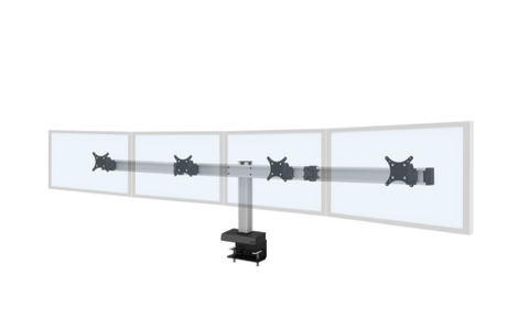 Image of Innovative Bild® Quad Monitor Mount