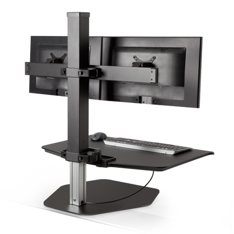 Innovativeworkspaces Winston Workstation® Dual Freestanding Sit-Stand