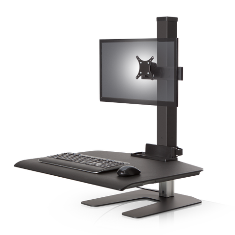 Image of Winston Workstation® Single Freestanding Sit-Stand