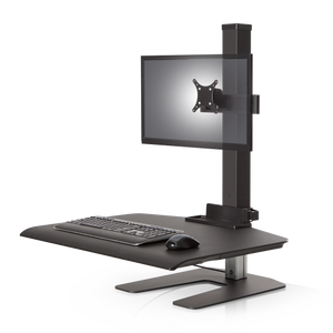 Winston Workstation® Single Freestanding Sit-Stand