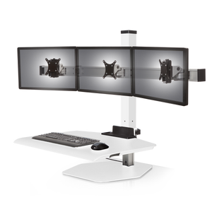Innovative Winston Workstation® Triple Freestanding Sit-Stand