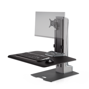 Innovative Winston-E® Sit-Stand Workstation Single Monitor Mount