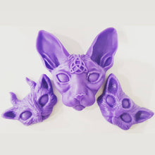 Load image into Gallery viewer, 3x Cat Head Wax Melts