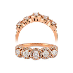 JOLIE, 14 K Yellow Gold, Diamond Ring
