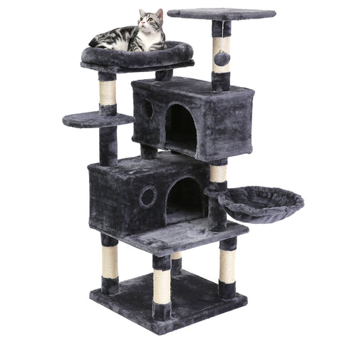 SUPERJARE Cat Tree, Dark Gray