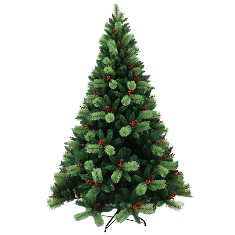 7FT Green Pine Artificial Christmas Tree MHCT02