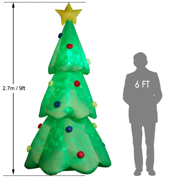 SUPERJARE 7 FT Christmas Inflatables Tree