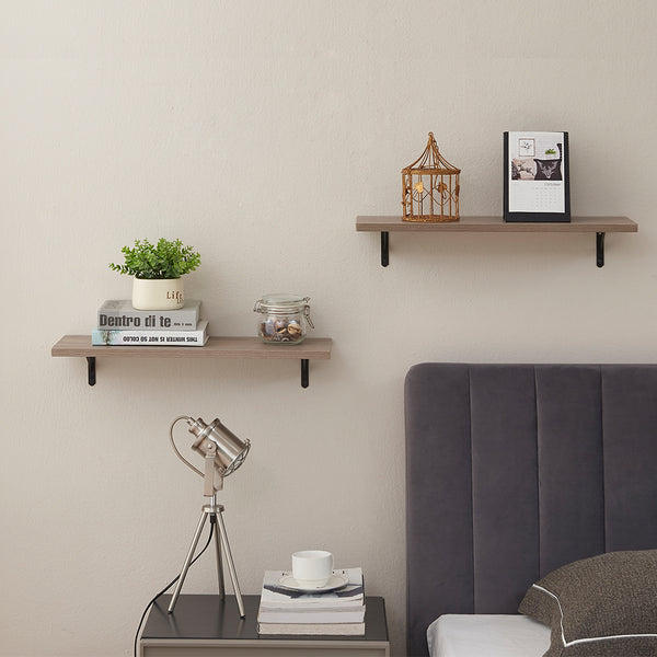 SUPERJARE Floating Shelves, Set of 2