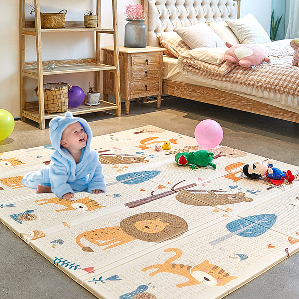 SUPERJARE Folding Baby Play Mat
