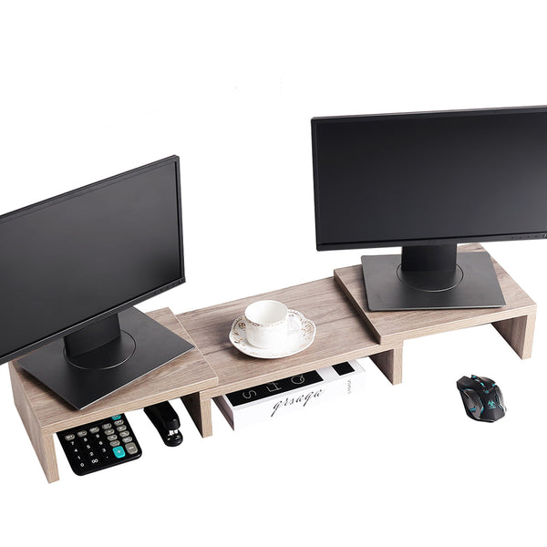 SUPERJARE Adjustable Monitor Stand