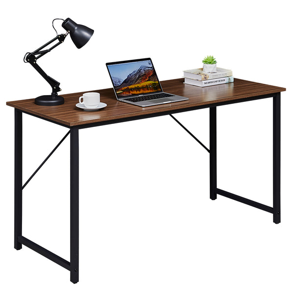 SUPERJARE 47 Inches Computer Desk, Brown