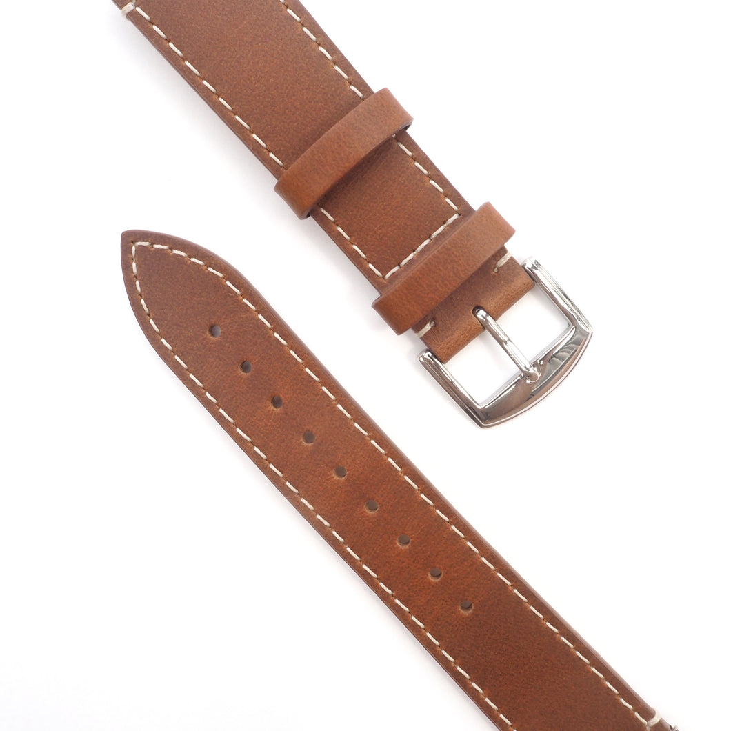 Tan Full Grain 'Crazy Horse' Leather