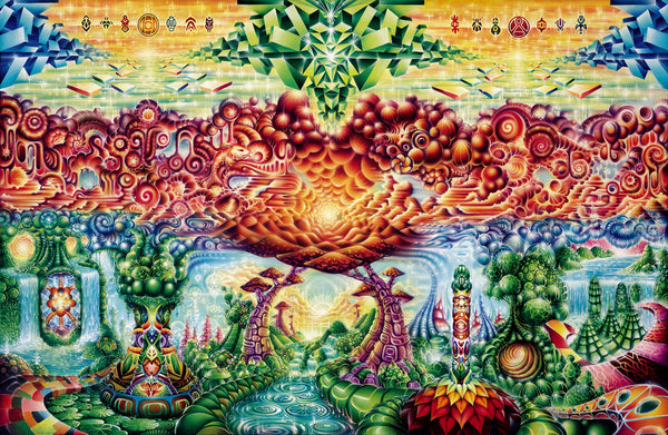Eternity Vision by Xavi Panneton Visionary Art