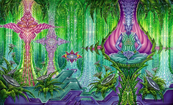 Podular Manifestation by Xavi Panneton Visionary Art
