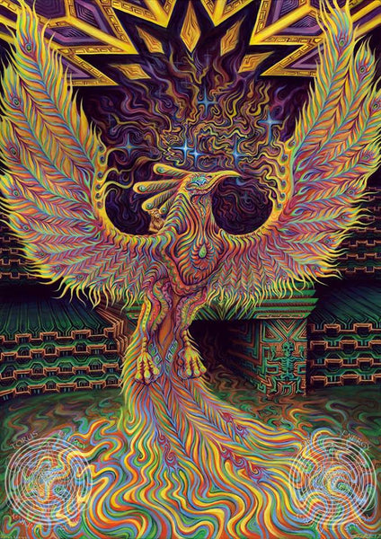 The God of Dreams Torus Energy Artworks