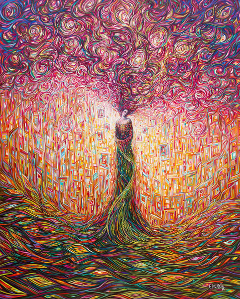 Eduardo Rodriguez Calzado Happy Thoughts Painting