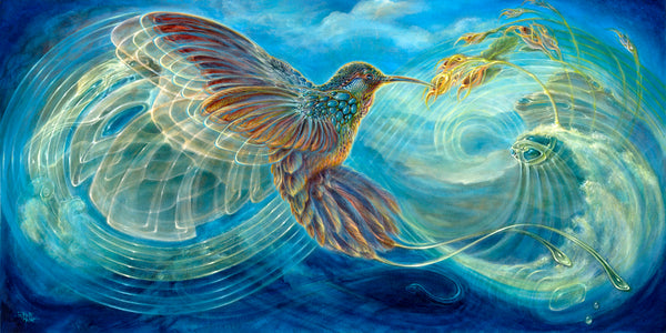 Colibri by Martina Hoffmann Art
