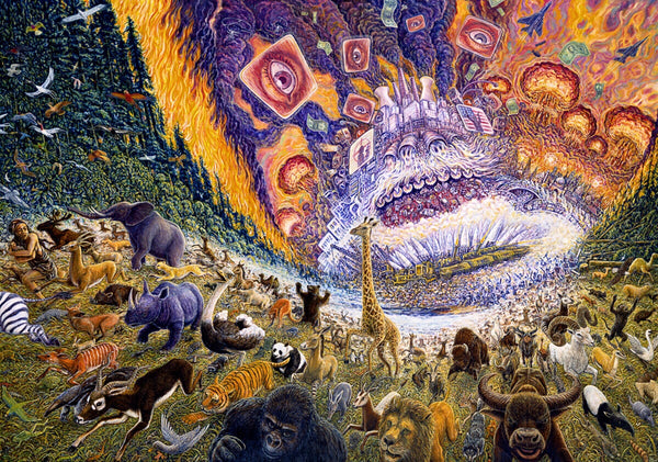 Mark Henson Art March of Progress