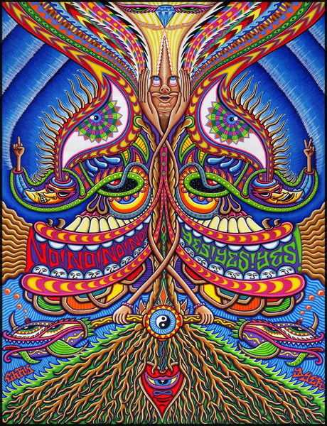 Apotheosis of Dualitree Chris Dyer Painting