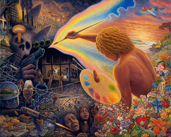 Mark Henson Art Paintbrush Warrior