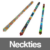 All Over Print Sublimation Neckties Infinite Bit Clothing